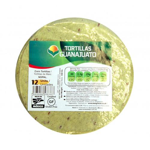 15cm Cactus/Green Corn Tortilla 30 x 12 Case
