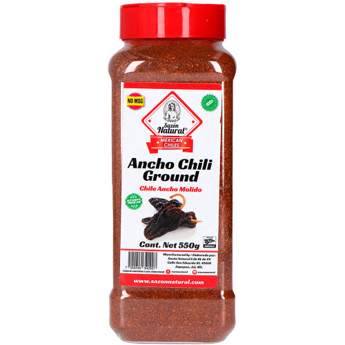Sazon Natural Ancho Chilli Powder 550g