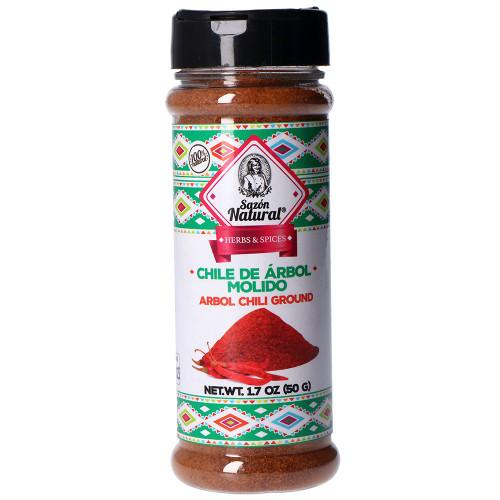 Sazon Natural Arbol Chilli Powder 12 x 50g