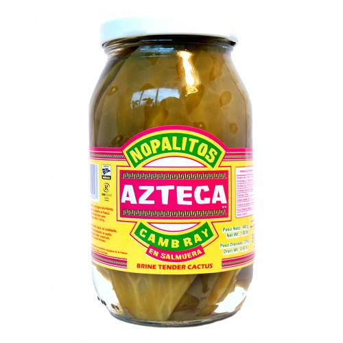 Azteca Cactus Leaves Whole Cambray 460gr