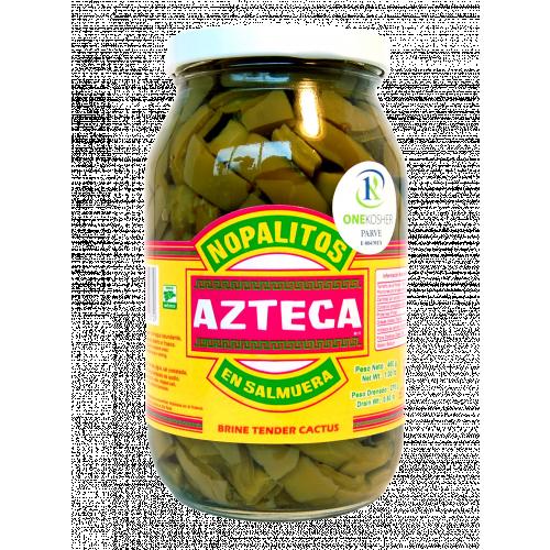 Azteca Cactus Leaves Strips 12x460g Case