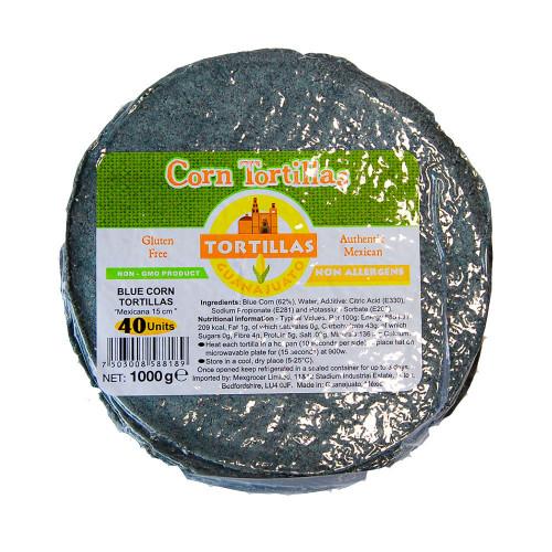 15cm Blue Corn Tortilla Mexicana 1kg