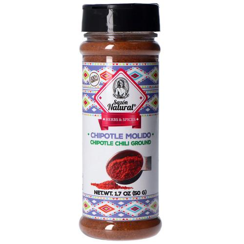 Sazon Natural Chipotle Chilli Powder 50g