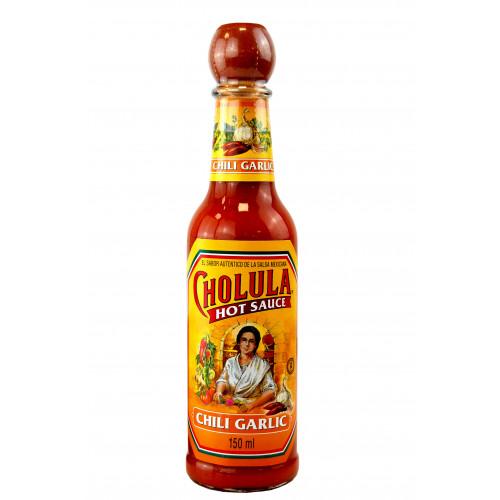 Cholula Garlic and Chilli Hot Sauce 150ml