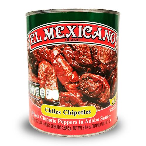El Mexicano Chipotle in Adobo 6 x 2.8kg
