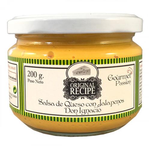 Original Recipe Cheese with Jalapeno 200ml