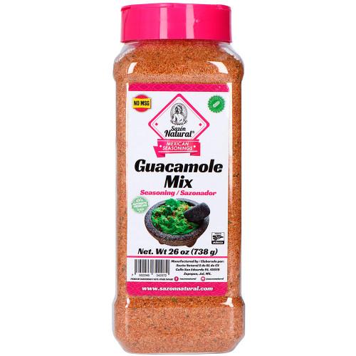 Sazon Natural Guacamole Mix 9 x 738g