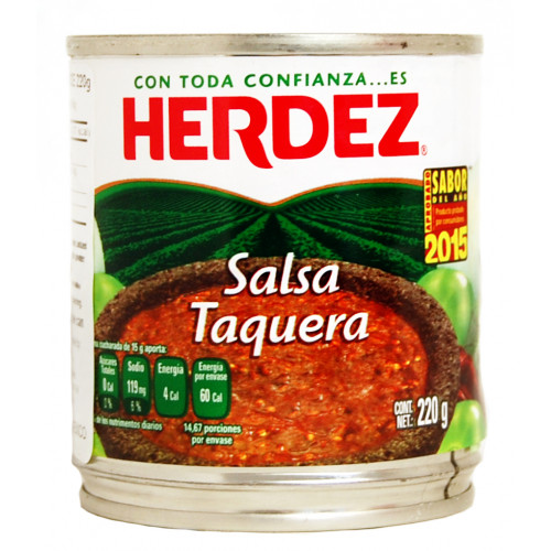 Herdez Taquera Salsa 220g