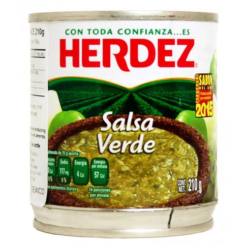 Herdez Salsa Verde 48x210g Case