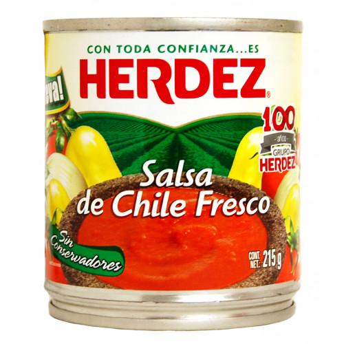 Herdez Fresh Chillies Salsa 215g