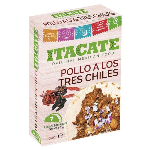 Itacate Pollo 3 Chiles 300g