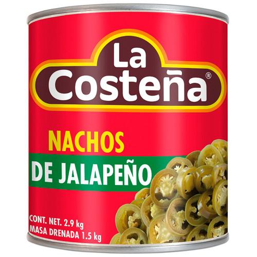 La Costena Jalapeno Nacho 6 x 2.8kg