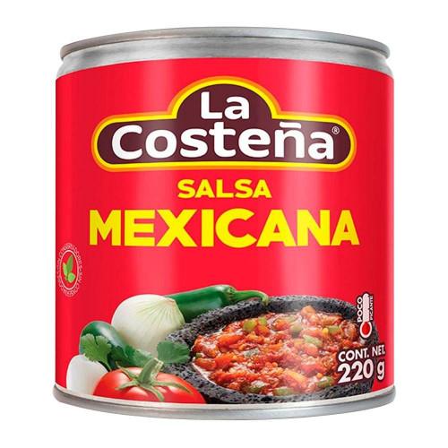 La Costena Salsa Mexicana Casera 24x210g