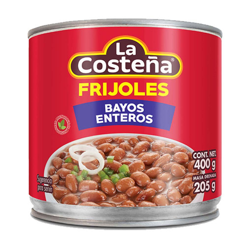 La Costena Bayos Whole Beans 400g