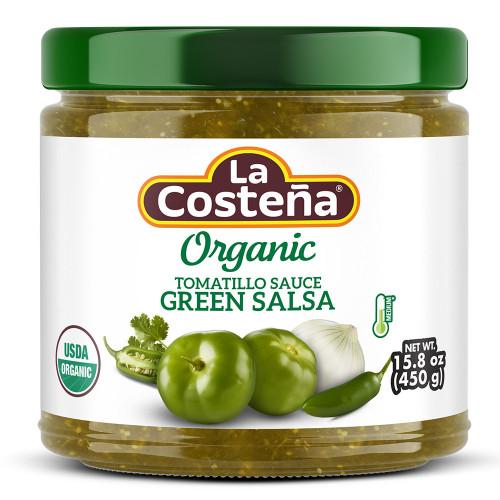 La Costena Salsa Verde Organic 12 x 450g