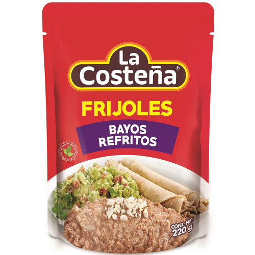 La Costena Refried Pinto Beans Pouch 220g