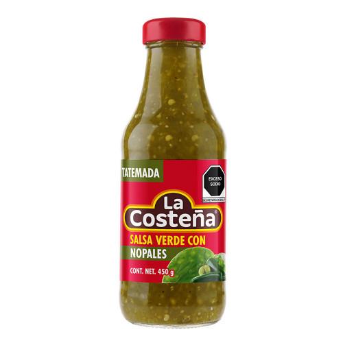 La Costena Salsa Verde with Cactus 250g