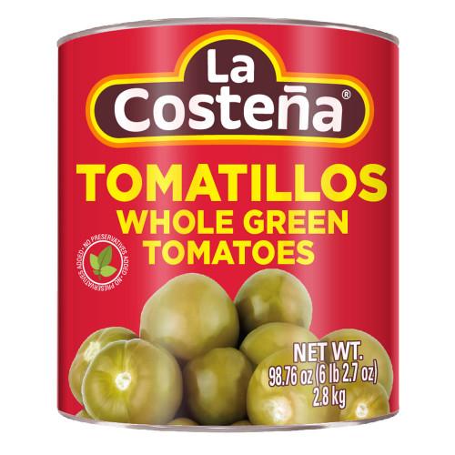La Costena Tomatillo Whole 6 x 2.8kg