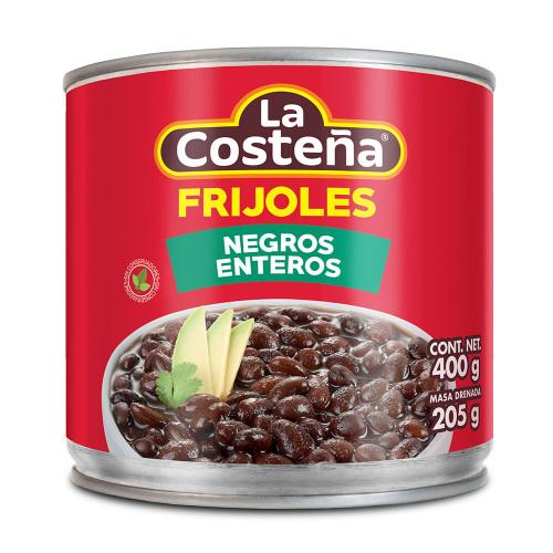 La Costena Black Whole Beans 400g