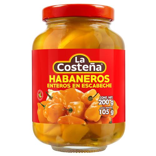 La Costena Habanero Whole 200g