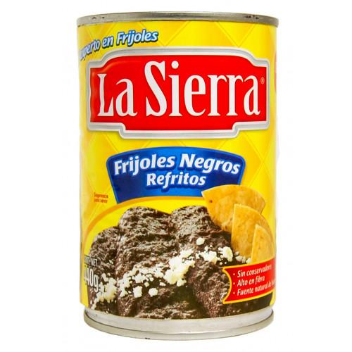 La Sierra Beans Black Refried  580g