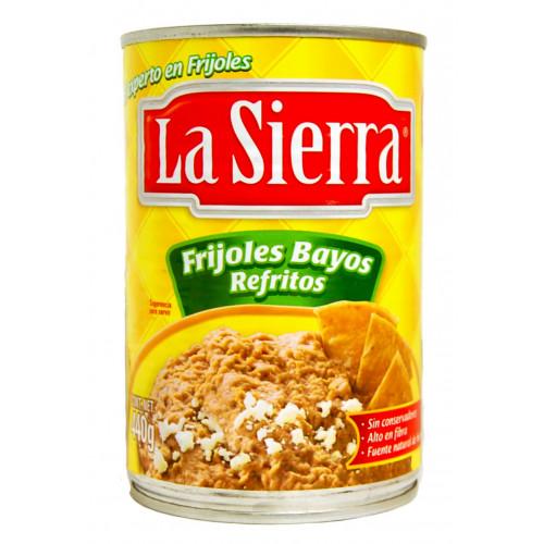 La Sierra Beans Bayos Refried  580g