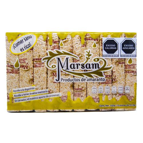 Marsam Amaranth & Almond Bar 12 x 550g Case