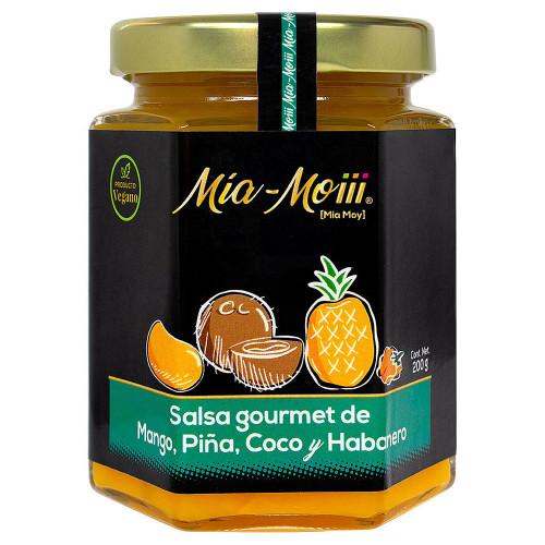 Mia Moiii Mango Pineapple Coconut Habanero Sauce 12 x 200g
