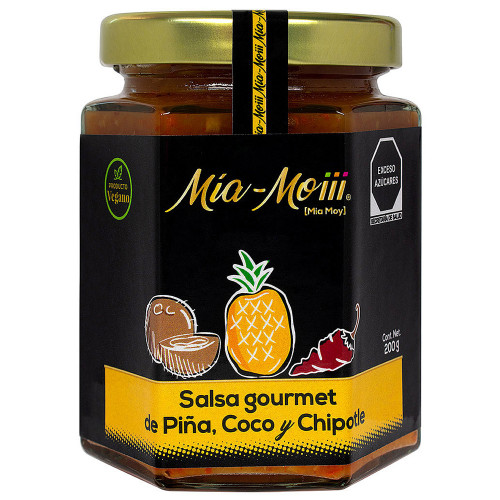 Mia Moiii Pineapple Coconut Chipotle Sauce 200g