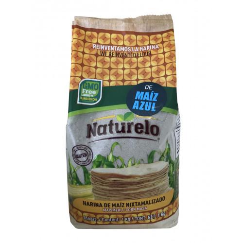 Naturelo Harina De Maiz Azul 1kg