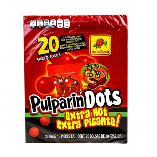 Pulparindots Extra Hot 16 x 600g
