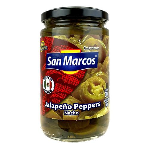 San Marcos Jalapeno Nacho Slices 6 x 215g Case