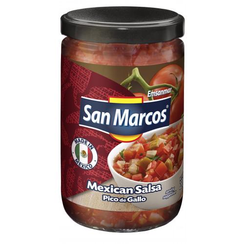 San Marcos Pico de Gallo Salsa 6x230g Case