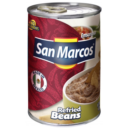 San Marcos Pinto Refried Beans 6x430g Case