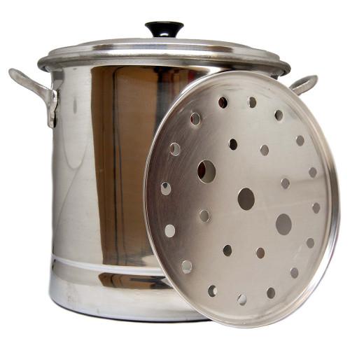 Tamal Steamer Cooking Pot Aluminium 20Lt