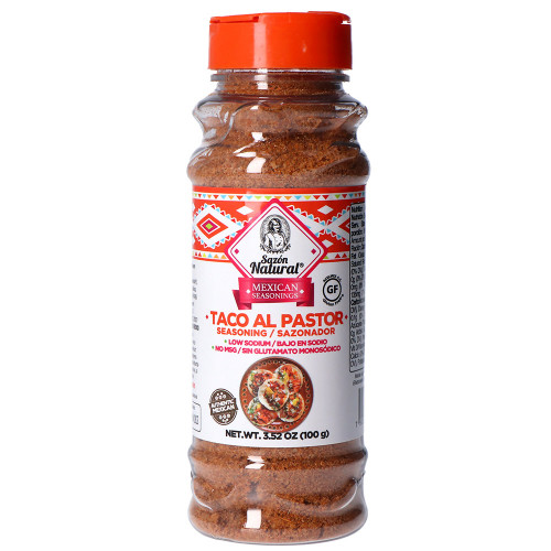 Sazon Natural Tacos Al Pastor Seasoning 12 x 100g
