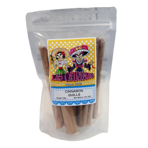 Las Catrinas Cinnamon Quills - Canela 100g
